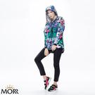 【MORR】Promac 流線剪裁機能防水外套 【熱帶藍】防水/透濕/透氣/戶外活動