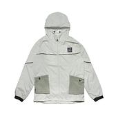 New Balance 外套 Logo Windbreaker Jackets 黑 白 男女款 連帽外套 運動休閒【ACS】 WJ11590SP4