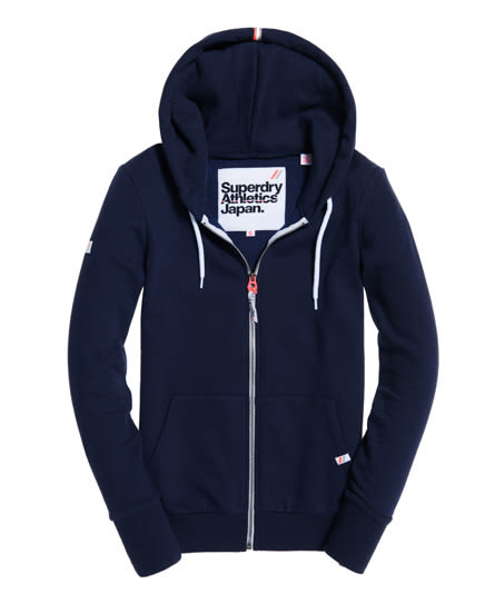 美國代購 Superdry 極度乾燥 LA Athletic 拉鍊連帽外套 八種顏色 (XXS~XL)
