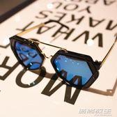 男童眼鏡潮韓國2017新款兒童太陽鏡小孩男女寶寶公主時尚個性墨鏡     時尚教主