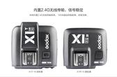 Godox 神牛 X1 TTL 無線引閃器 套組 (X1T-N 發射器) + (X1R-N 接收器) 【公司貨】 For nikon