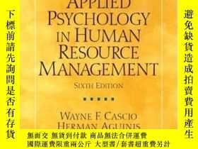 二手書博民逛書店Applied罕見Psychology In Human Resource Management (6th Edi