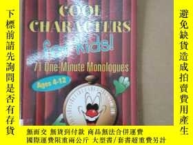 二手書博民逛書店Cool罕見Characters for Kids! 71 On