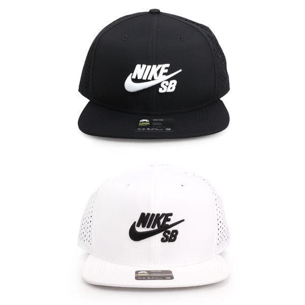 NIKE 運動帽(帽子 防曬 遮陽 鴨舌帽 休閒 SB≡體院≡
