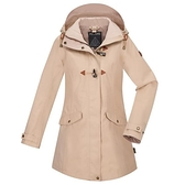 【南紡購物中心】【歐都納】女款GORE-TEX 2L+羽絨兩件式防水外套(A1GT1910W卡其)