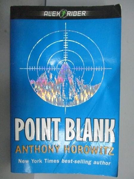 【書寶二手書T9/原文小說_NAC】Point Blank_Anthiny Horowitz