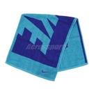 Nike 毛巾 Jacquad Towel 藍 深藍 Logo 棉 盒裝 運動休閒【ACS】 N100153943-8MD