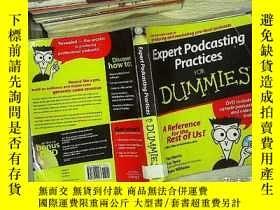 二手書博民逛書店expert罕見podcasting practices for dummies 傻瓜專家播客實踐Y18089
