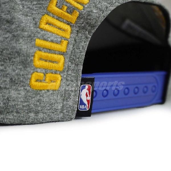 Nike 帽子 AroBill Pro Heater Dri-Fit 灰 藍 男女款 金州勇士隊 電繡 Golden State Warriors 【ACS】 869924-091