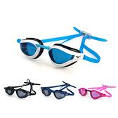 MIZUNO SWIM 健康型墊片泳鏡(抗UV 防霧 蛙鏡 游泳 訓練 美津濃≡體院≡ N3TE951000