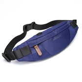腰包男士單肩斜挎胸包男休閒運動多功能跑步健身手機包迷你小背包