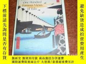 二手書博民逛書店原版精裝【HIROSHIIGE罕見One Hundred Fam