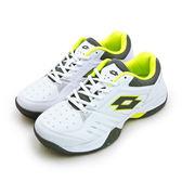 LIKA夢 LOTTO 全地形網球鞋 T-TOUR 600 白灰綠 6805 男