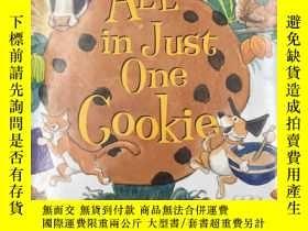 二手書博民逛書店All罕見In Just One Cookie 一塊曲奇Y191