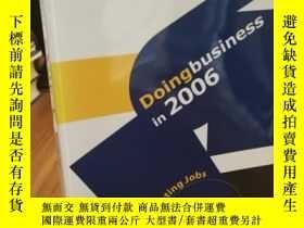 二手書博民逛書店Doing罕見Business in 2006: Creatin