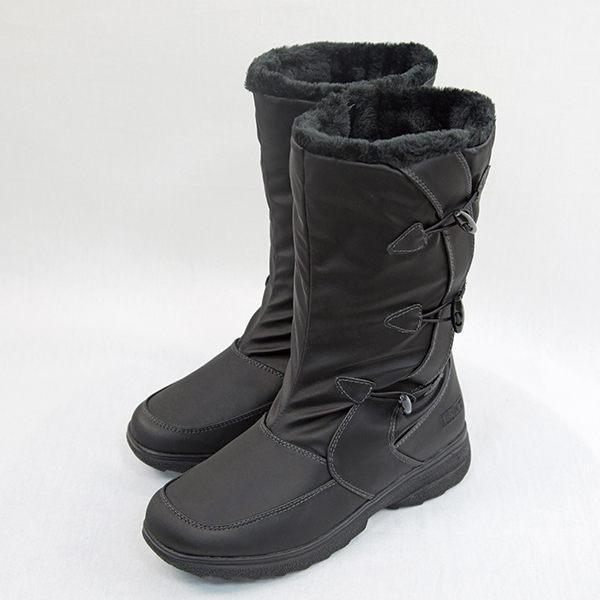 ESKT 女 中筒雪鞋│雪靴 (附簡易冰爪) 『黑』SN207 保暖.抗寒