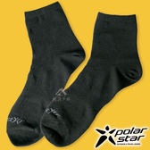 PolarStar 中性排汗短筒襪『黑』P18525 露營.戶外.登山.排汗襪.彈性襪.紳士襪.休閒襪.長襪