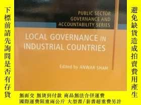 二手書博民逛書店工業國家的地方治理罕見Local Governance in I