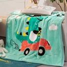 兒童毛毯 兒童毛毯雙層加厚毛巾被珊瑚絨毯子午睡空調蓋毯床單人小被子【快速出貨八折下殺】
