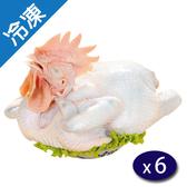國產土雞(2.2~2.4KG)/隻X6/箱【愛買冷凍】