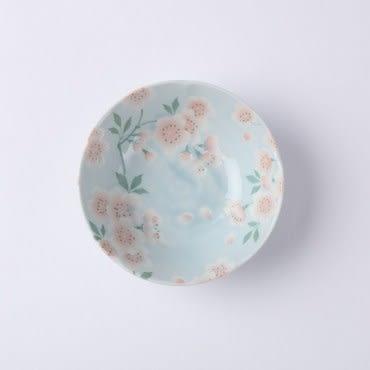 日本滿開櫻缽-藍 14cm