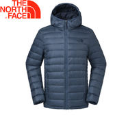 【The North Face 男款 700fp 連帽羽絨外套《藍》】35E7HMM/羽絨外套/外套/保暖外套★滿額送