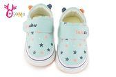 寶寶學步鞋 軟底 防滑 嬰兒透氣機能布鞋 F3090#綠色◆OSOME奧森童鞋