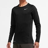 Nike NP Top Warm LS Crew 男款 黑 慢跑 運動 長袖 CV3047-010