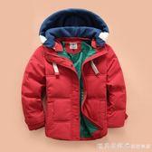 兒童羽絨服男童2019新款韓版加厚羽絨外套中小童冬裝反季 漾美眉韓衣