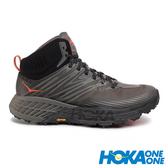 【HOKA】Speedgoat 男GT中筒運動健行鞋 『曜石黑/深鷗灰』1106532 功能鞋.多功能鞋.休閒鞋.登山鞋