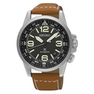 SEIKO PROSPEX 航空夜光指針日期顯示機械錶/ 黑/ 42mm/ 4R35-01N0J(SRPA75J1)