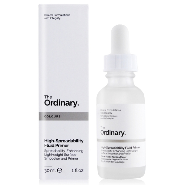 The Ordinary High-Spreadability Fluid Primer 高延展水潤妝前液(30ml)
