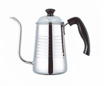 【Pearl Hourse】 寶馬牌 電木柄樂浪細口壺 700ml / 手沖咖啡壺