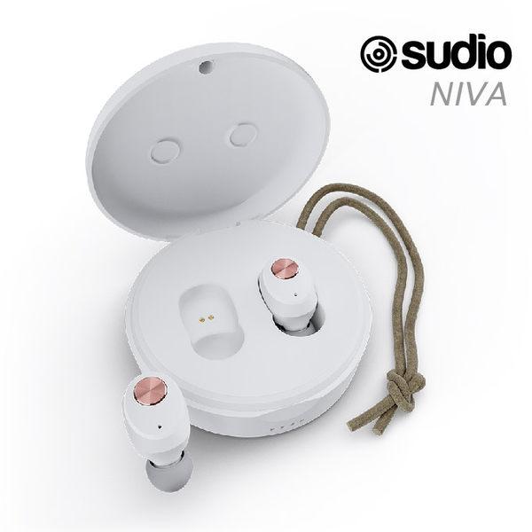 瑞典設計 Sudio NIVA 真無線藍牙耳機 耳道式耳機 高音質 白