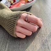 情侶戒素圈戒指女時尚個食指指環男女【小酒窝服饰】