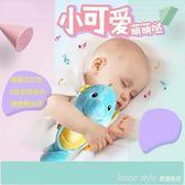 費雪聲光安撫海馬寶寶新生兒睡眠寶寶毛絨玩具聲光音樂玩偶0-3歲  LannaS