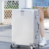 鱷魚恤行李箱網紅女萬向輪20寸學生男拉桿旅行密碼小皮箱子YYJ 凱斯盾
