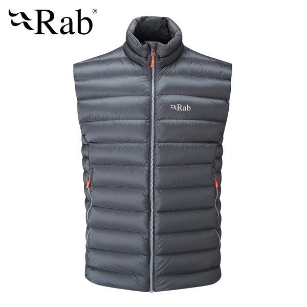 英國 RAB Electron Vest 保暖立領背心 男款 石墨灰 #QDN58