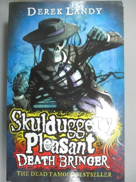 【書寶二手書T8/原文小說_LGU】Skulduggery Pleasant : Death Bringer_Derek