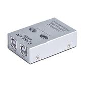 豐杰英創打印機共享器USB分線器一拖二2口轉換器兩台電腦 【夏日新品】
