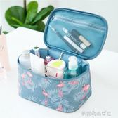 ins網紅化妝包女便攜韓國簡約大容量化妝袋箱少女心洗漱品收納盒『夢露時尚女裝』