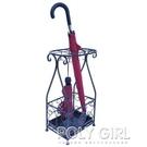 鐵藝雨傘收納架落地家用簡約創意整體放摺疊雨傘架傘桶置物架子  ATF  夏季新品