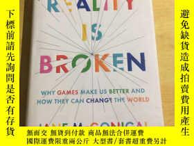 二手書博民逛書店Reality罕見is Broken(遊戲改變世界)23470
