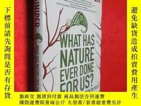 二手書博民逛書店What罕見Has Nature Ever Done for U