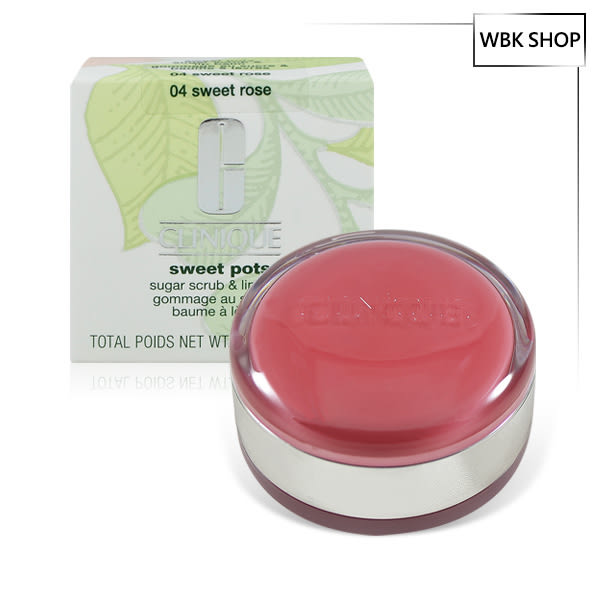 Clinique 倩碧 蜜糖啾啾馬卡龍 12g Sweet Pots Sugar Scrub & Lip Balm(多色可選) - WBK SHOP