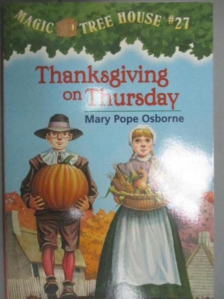 【書寶二手書T6/原文小說_OGF】Thanksgiving on Thursday