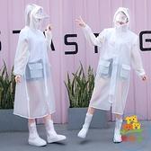 成人雨衣男女長款全身透明加厚徒步電瓶車雨披防暴雨【樂淘淘】