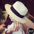 棒球帽  草帽 爵士帽禮帽遮陽帽子沙灘帽【預購】【莎芭】