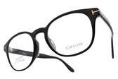 TOM FORD 光學眼鏡 TOM5400F 001 (黑) 經典紳士百搭款 # 金橘眼鏡
