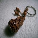 【Ruby工作坊】NO.16桃木雕錢鑰匙圈((含加持祈福))